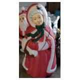 Mrs Claus Blow Mold