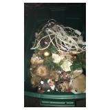 Miscellaneous Christmas Tub Of Decorations
