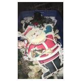 Christmas Tub Of Decorations