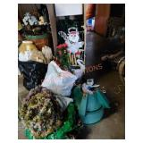 Miscellaneous Christmas Tree And Wreath Lot