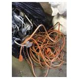 Bag Of Miscellaneous Extension Cords