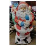 Santa Blow Mold