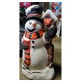 Small Snowman Blow Mold