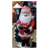 Small Santa Blow Mold