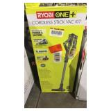 Ryobi Cordless Stick Vac Kit