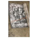 Sofia Collection Rug, Gray/Gray