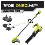 Ryobi One Cordless String Trimmer and Blower Kit