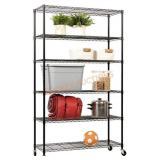 6-Shelf Storage Unit