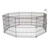 """BestPet Puppy Indoor/Outdoor 36"""" Metal Playpen"""