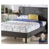 Zinus Shalini Quuen Upholstered Platform Bed