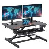 Standing Desk 32 Inches Adjustable Height Steel
