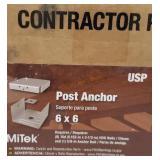 MiTek post anchors