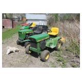 John Deere 112 Riding Mower w/ Attachements