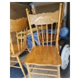 3)matching Pressback Chairs