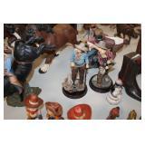 2)Statues
