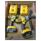 DeWalt 18 V drill and wrench