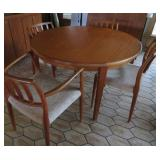 Moller Chairs and Teak table