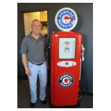 Restored Smithway Gas Pump