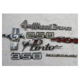 Ford auto emblems