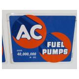 AC Fuel Pump sign