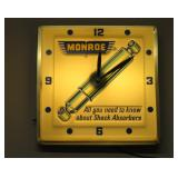 Monroe Shocks clock