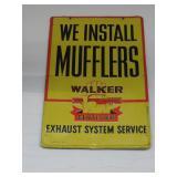 metal Muffler sign