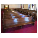 over 30 pews