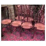 bow back chairs