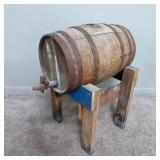 wood keg