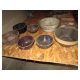 Several Stoneware Bowls