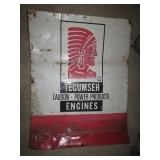 Tecumseh Motor Sign