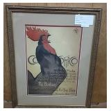 Rooster By Steinlen