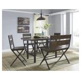 Ashley D469 - 6 pc Dining Room Suite