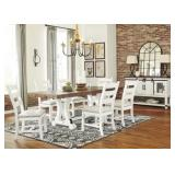 Ashley D546 Valeback Dining Table & 6 Chairs