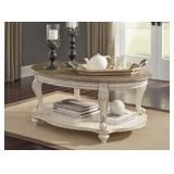 Ashley T743-0 Raelyn Oval Cocktail Table