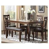 D384-325 6pc Dining Room Set ( showroom)