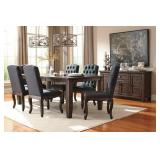 Ashley D658 Trudell Table & 6 Chairs