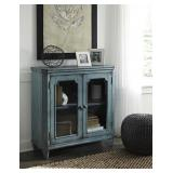 Ashley t505-742 Antique Teal Accent Chest