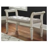 Ashley A3000157 Antique White Accent Bench