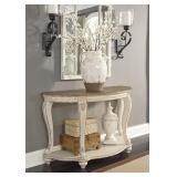 Ashley T743 Raelyn Antique WhiteSofa Table