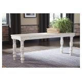 Ashley A3000159 Dannerville Antique White Bench