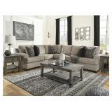 Ashley 56103 Bovarian Stone 3 pc Sectional Sofa