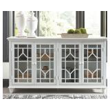 Ashley A4000221 Dellenbury Antique White Cabinet