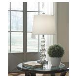 """L428084 Ashley Contemporary 25.5"""" Crystal Lamp"""