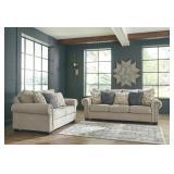 Ashley 97704 Zarina Designer Sofa & Love Seat