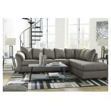 Ashley 75005 Darcy Cobblestone Sectional Sofa