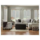 Corinthian XXL Griffin Sectional Sofa