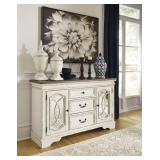 Ashley D743 Realyn Antique White Dining Server