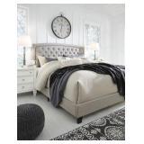 Queen - Ashley B090-781 Jerary Gray Designer Bed