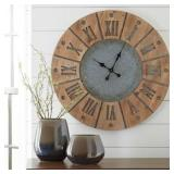 A8010076 Ashley  Antique Style Large Wall Clock